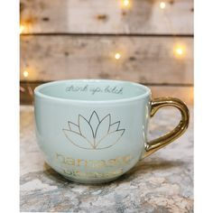 Drink your morning cup of joe in style! This awesome coffee mug is now accepting more than just coffee. Earl grey with lemon, anyone? - Ceramic - 16 oz