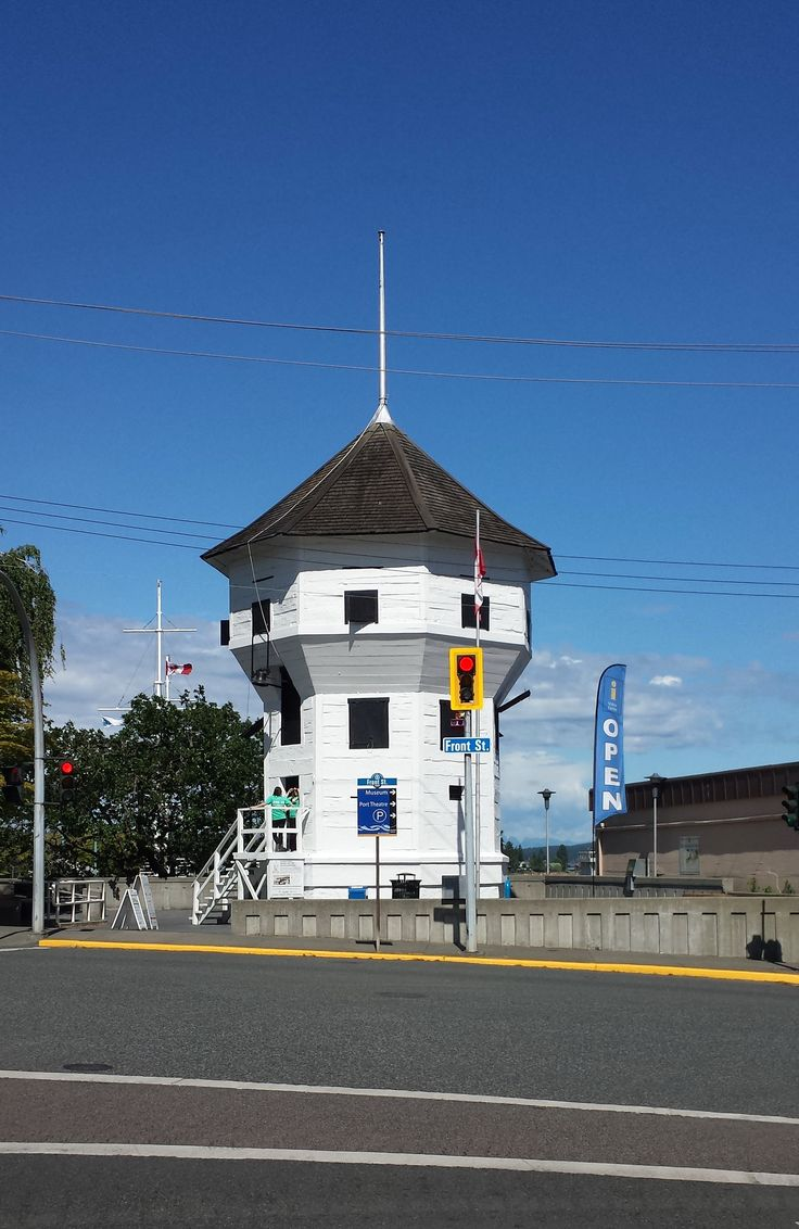 Nanaimo's Bastion, standing tall for over 160 years. This photo taken 2016
