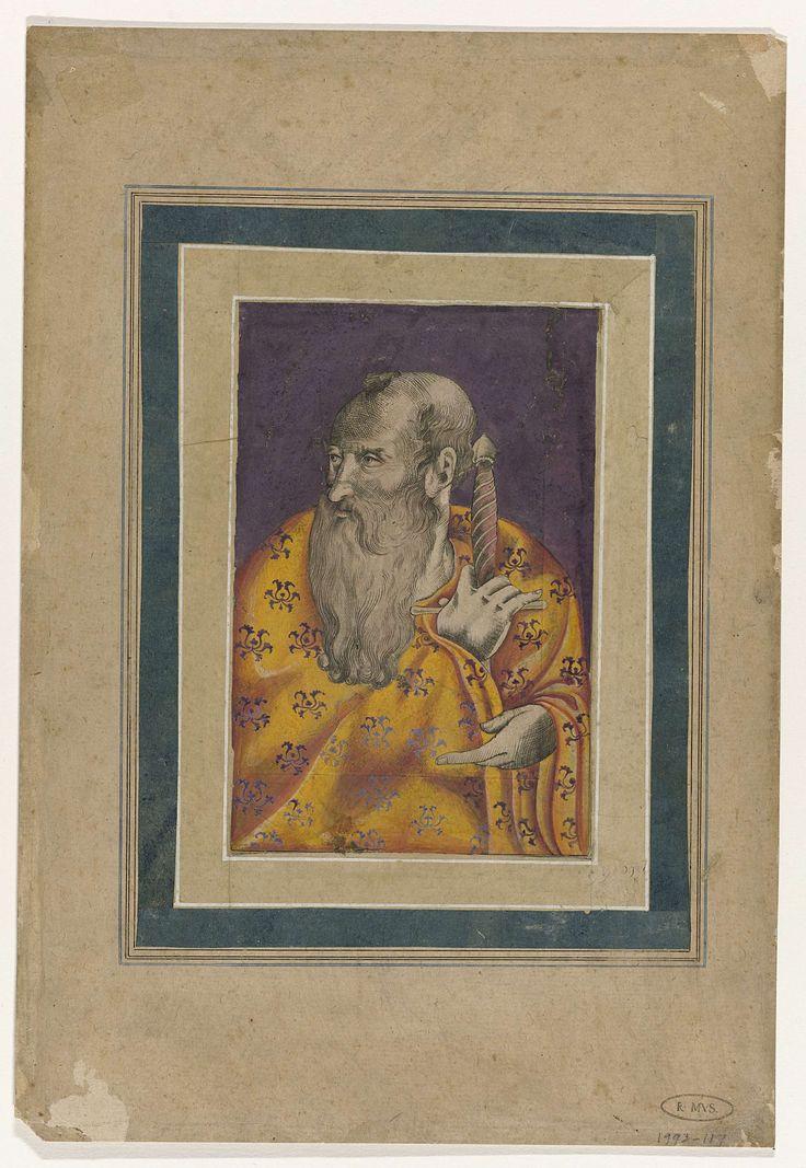 Anonymous | De apostel Paulus, Anonymous, 1590 - 1610 |
