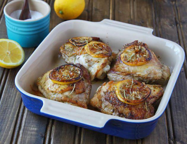 Easy lemon rosemary chicken recipe
