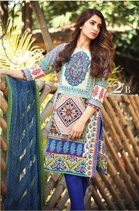 SHOP at www.alioutfits.co.uk Pakistani Designer Wear Clothes, Spring / Summer Collection 2015