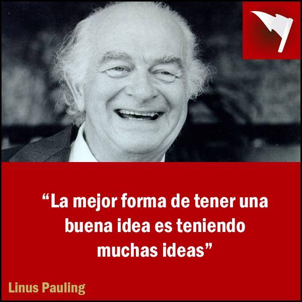 #Frase #LinusPauling