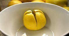 Lege über Nacht eine geschnittene Zitrone neben dein Bett und erlebe diese erstaunlichen Vorteile