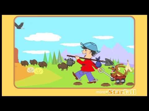 """▶ """"Oh California"""" 1849 Gold Rush Song, fully animated! - YouTube"""