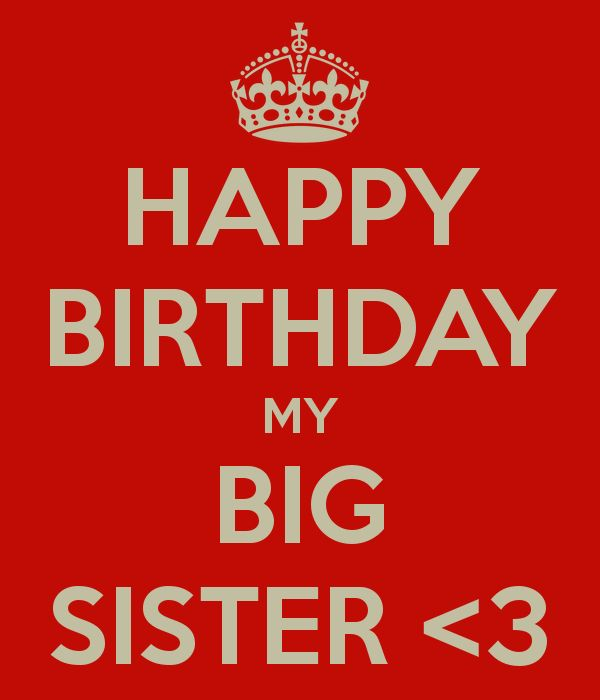 Happy birthday to My sister! Love you:)❤