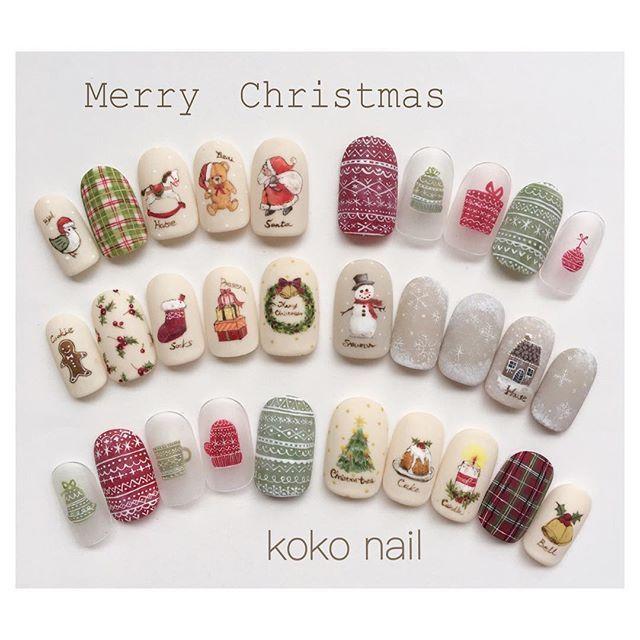 クリスマスネイル♡