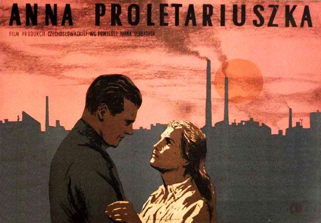 Wojciech Fangor, Anna proletariuszka, 1954