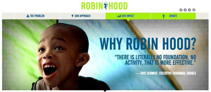 https://www.robinhood.org - personal testimony