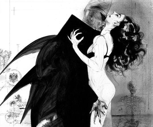 Drácula, por Luis Scafati