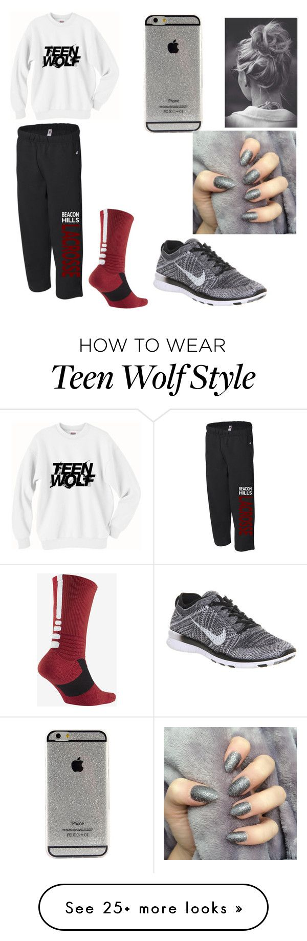 """""""Teen Wolf ❤️"""" by carlie-green on Polyvore featuring NIKE"""