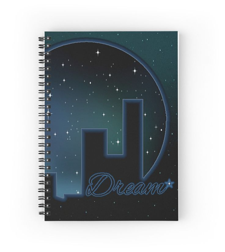 """Twilight Dream"" Spiral Notebooks 