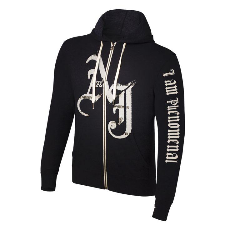 "AJ Styles ""I am Phenomenal"" Lightweight Hoodie Sweatshirt"