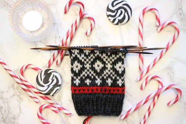 Sweet things: Neulotaan yhdessä Adventtisukat - ensimmäinen osa!...