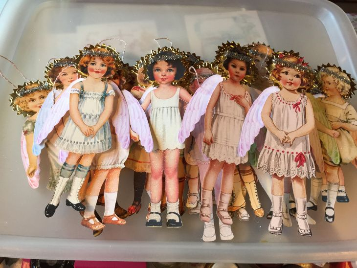 Vintage Paper Doll Angels – Part 6 | Wings of Whimsy