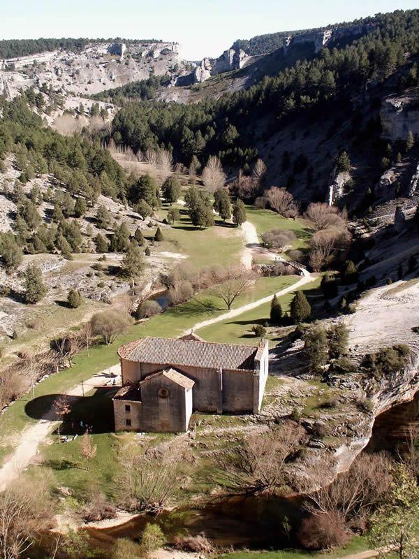 Parque natural del cañón de Río Lobos #Pinares #Soria #Spain