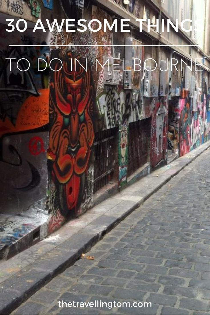 Melbourne is one of the best cities to visit in Australia.  This mainly because there's so many things to do in Melbourne! From going to the beach, to visiting museums, Melbourne has it all! if you're wondering what to do in Melbourne, check out this post!