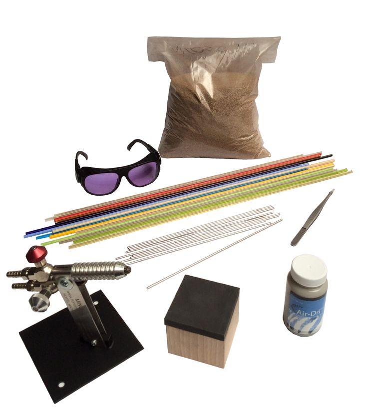 Kit de démarrage perles au chalumeau - chalumeau gaz oxygène-propane