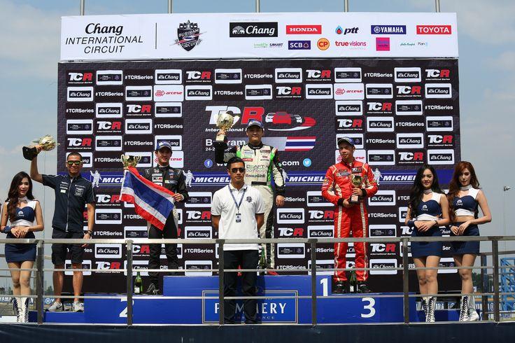 TCR International Series. Thailand. Race 1.
