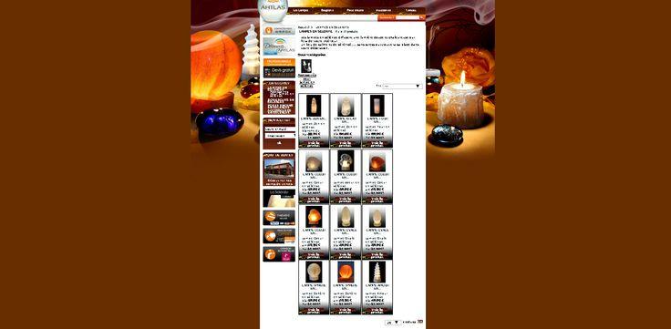 Un autre exemple de site de vente en ligne