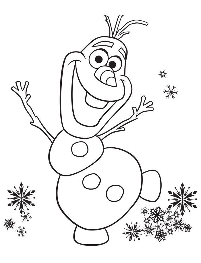 Frozen Coloring Pages Olaf See the category to find more ...
