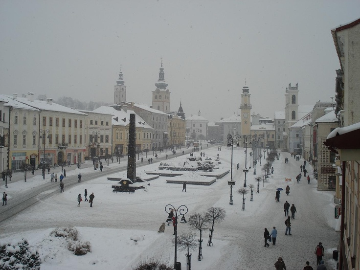 Banska Bystrica in Slovakia (been to). #slovakia