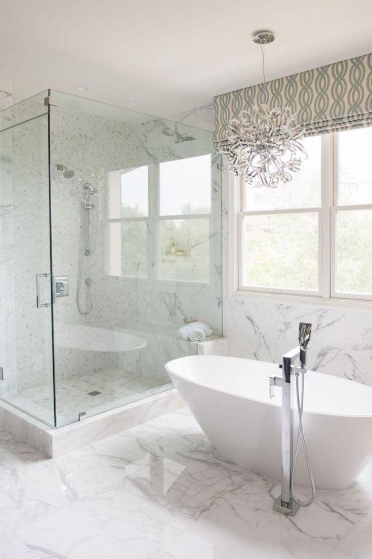 42 Merveilleuses Idees De Salle De Bains De Maitre Beaux Decors De Maison Master Bathroom Design Bathroom Shower Design Small Bathroom Remodel