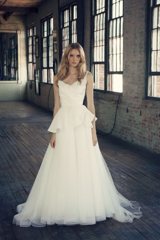 Michelle Roth's Rebecca Wedding Dress from the Fall 2014 Bridal Collection | via junebugweddings.com ALL NEW Wedding Dress Gallery