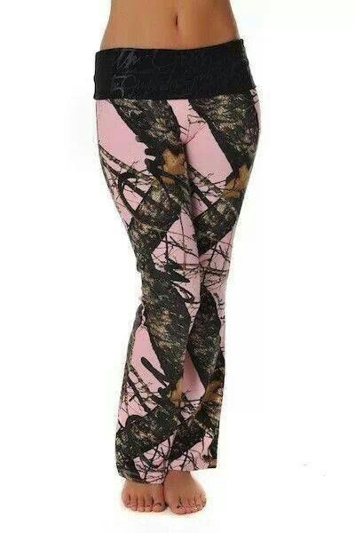 Camo - Tamie the new chase crew pants!