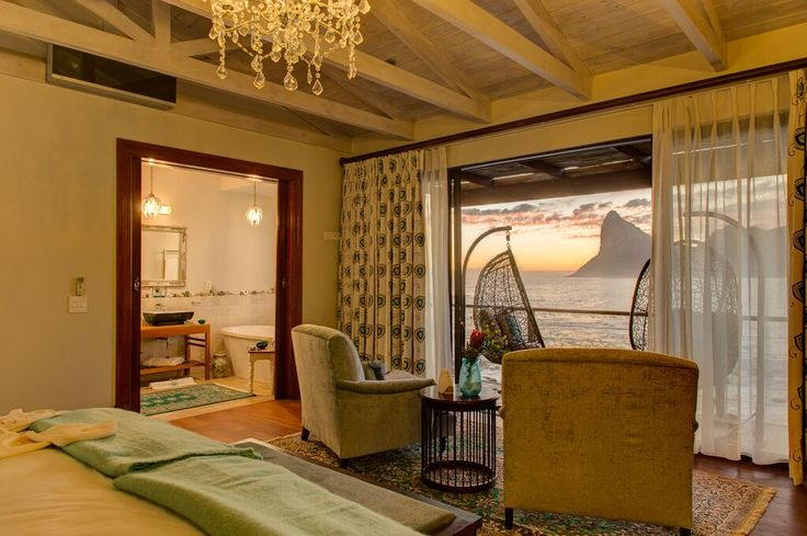 One of the rebuilt suites at Tintswalo Atlantic. All is on-par for our reopening on 1st November. Can you guess the suite?  :-)