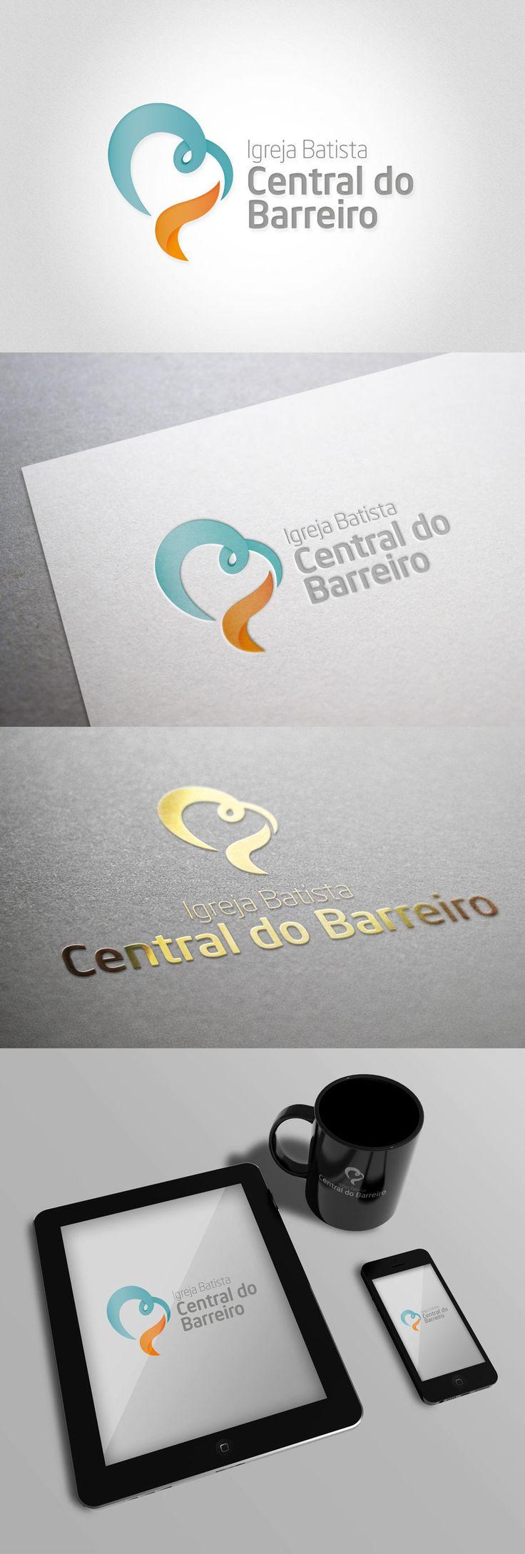 Logo da Igreja Batista Central do Barreiro - Quartel Design - Quartel Design