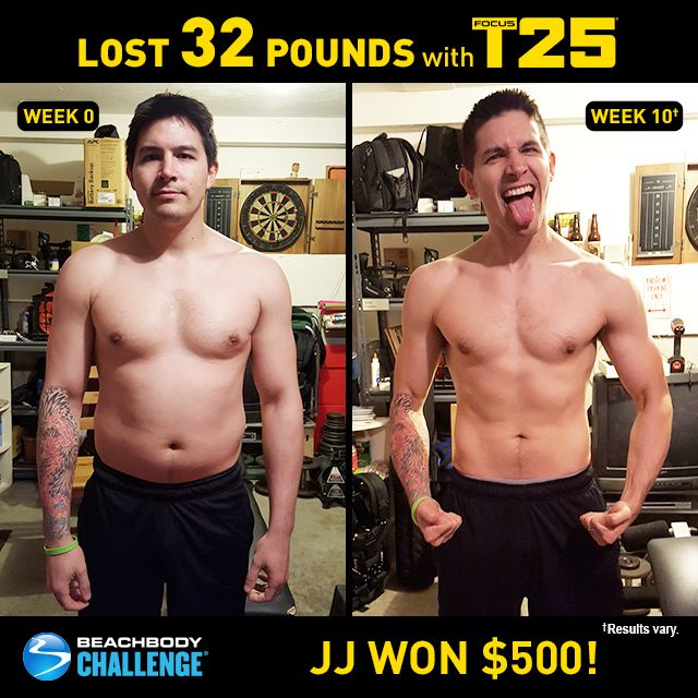 10 week weight loss transformation contest