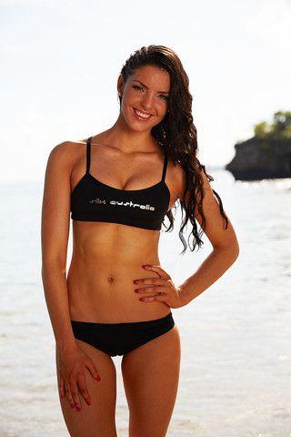 Back in Black Training Bikini | Slix Training Swimwear
