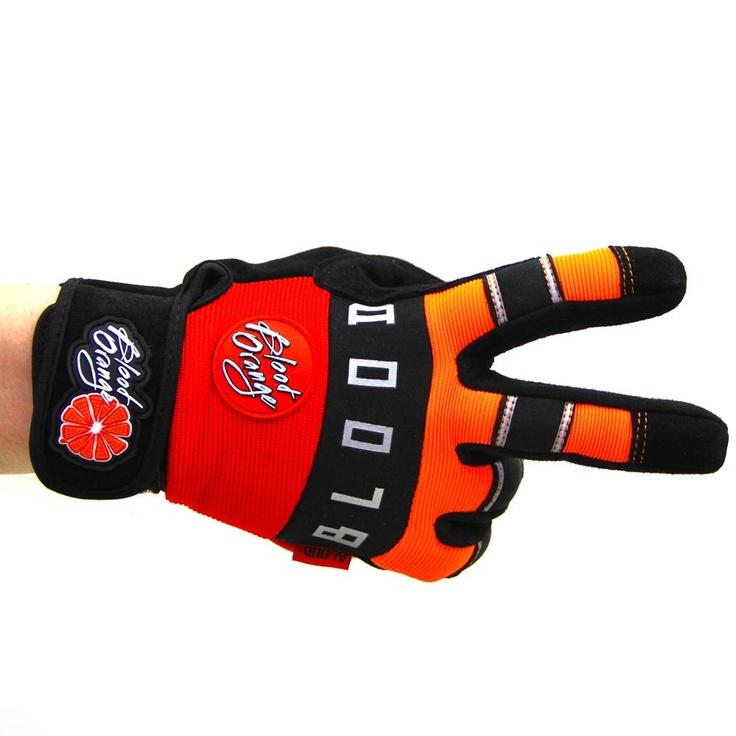 Blood Orange 'Knuckles' Longboard Slide Gloves! Super durable, super comfortable, and super high-vis for SUPER SAFE skating! Only $44.50. http://motionboardshop.com/new-products/blood-orange-knuckles-gloves-sm.html