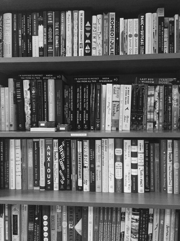 Our shelves!