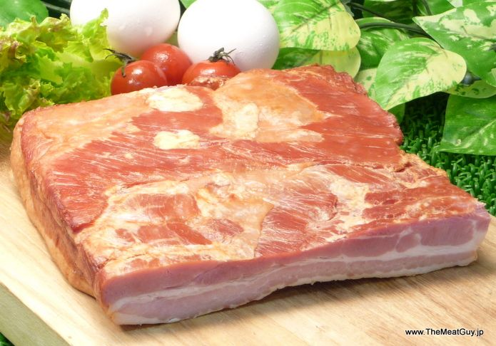 【楽天市場】【送料無料】ドイツ産塩漬けスモークベーコン ブロック【YDKG-tk】【smtb-tk】【RCP】:The Meat Guy(ザ・ミートガイ)