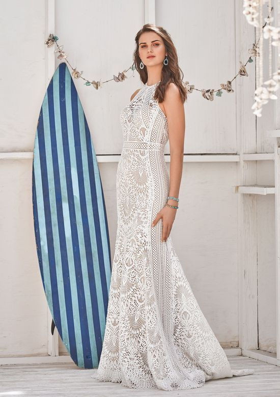 6aea9c6be6 Destination wedding? Check out Lillian West's designs, exclusively at Uptown  Bride.