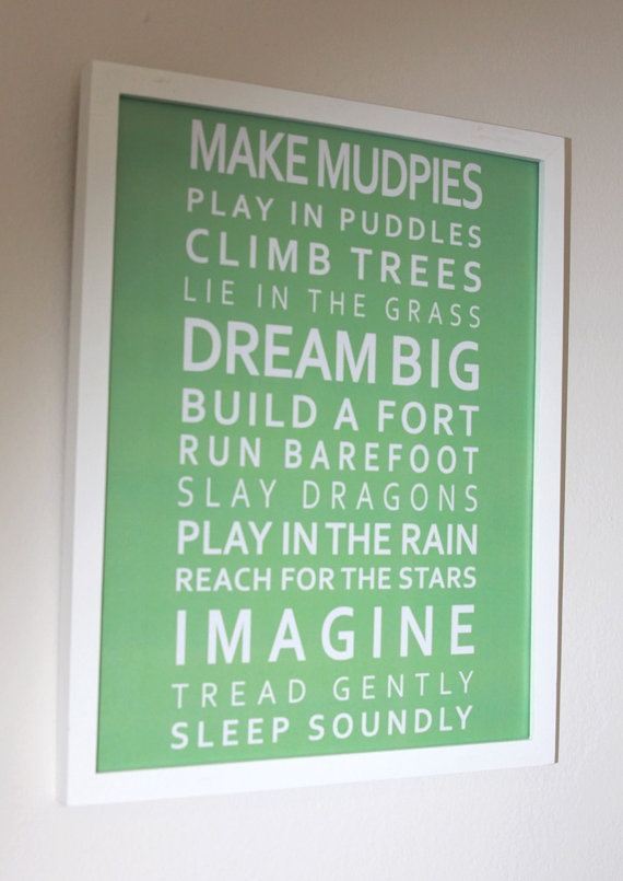 For kids: Imagination Poster, Play Rooms, Plays House, For Kids, Plays Rooms, Boys Bedrooms, Boys Rooms, Playrooms, Kids Rooms