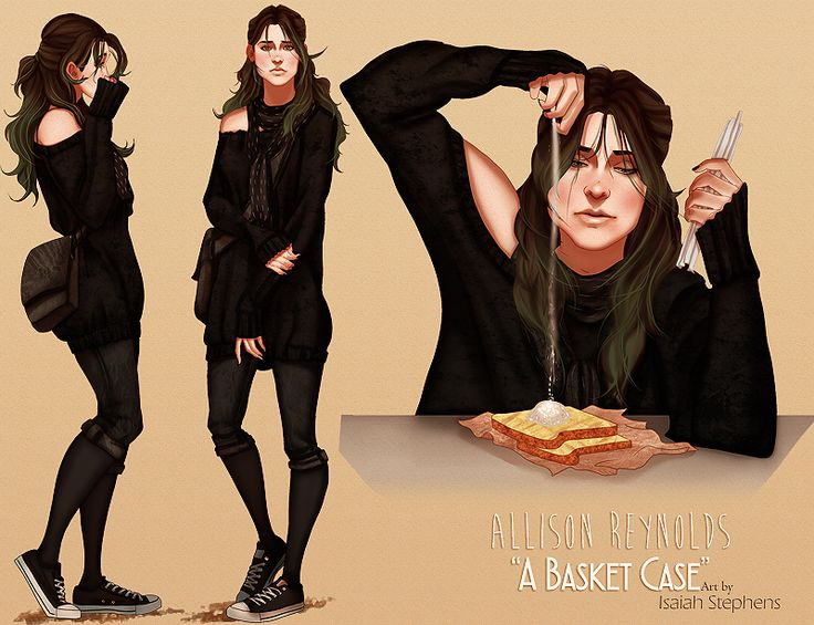 Modern Breakfast Club: Allison by IsaiahStephens.deviantart.com on @DeviantArt