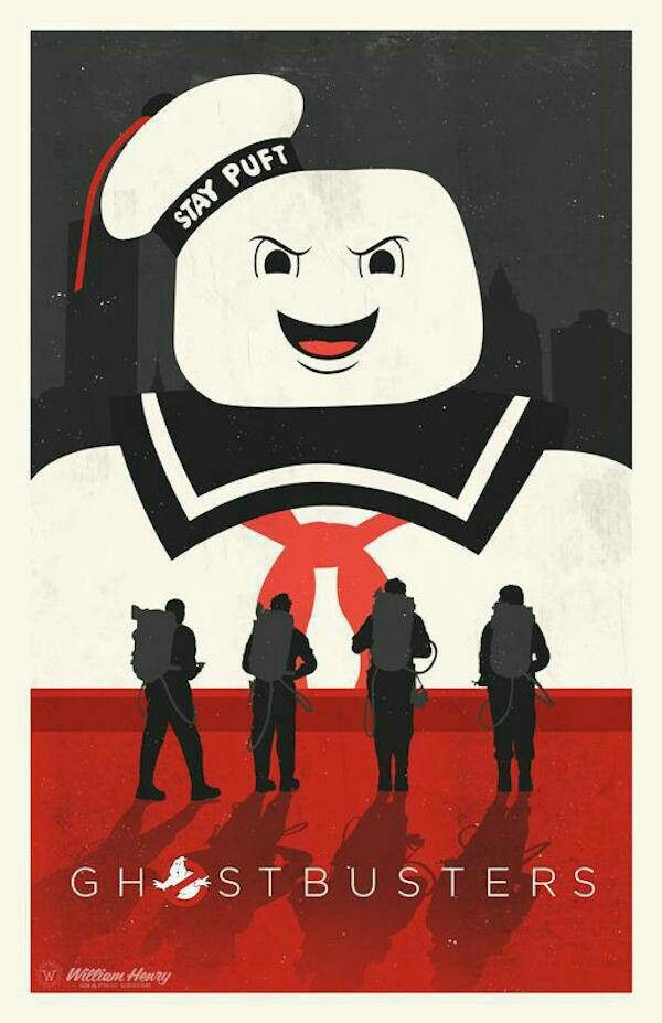 Ghostbuster movie poster