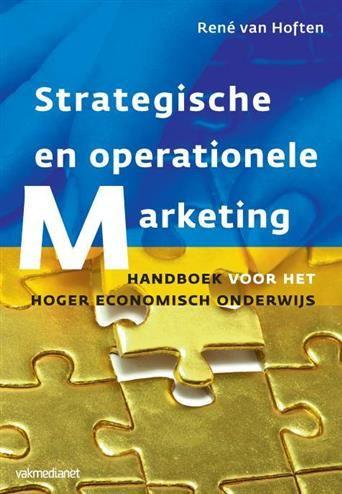 Strategische en operationele marketing  Description: In dit boek Strategische en operationele marketing wordt een aantal nieuwe ontwikkelingen op het gebied van marketingmanagement gepresenteerd. Dat betreft een beter onderscheid tussen algemeen management en marketingmanagement dus tussen ondernemingstop en afdelingsniveau en een betere afbakening tussen strategische keuzemodellen en strategische analysemodellen. Gezien de sterke groei van het aantal zzp'ers worden er ook een serie nieuwe…