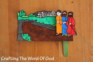 Mark 16:12-13; Luke 24:13-35; The Emma's Disciples; Road to Emmaus Craft