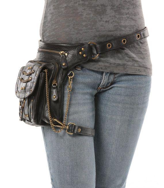 Underground Pack - (Black) Thigh Holster, Protected Purse, Shoulder Holster, Handbag, Backpack, Purse, Messenger Bag, Fanny Pack