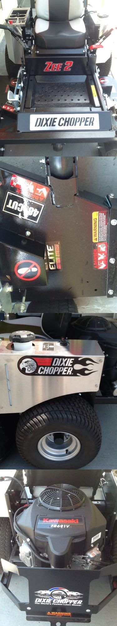 Riding Mowers 177021: Dixie Chopper Zee 2 (48 ) 23 Hp Kawasaki Zero Turn Mower 2017 -> BUY IT NOW ONLY: $4399 on eBay!