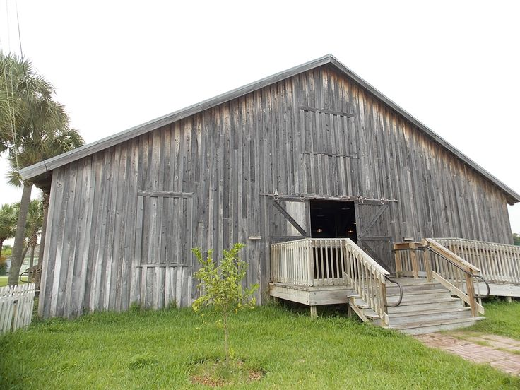 Lovely rustic barn in Yesteryear Village, located within the South Florida Fairgrounds.