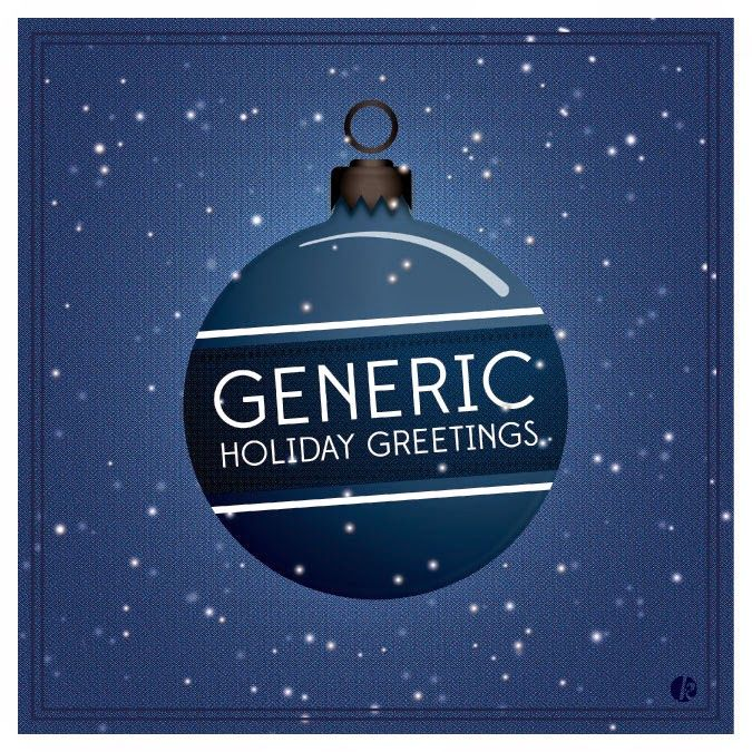 Before the After: Generic Holiday Greeting. Almost.