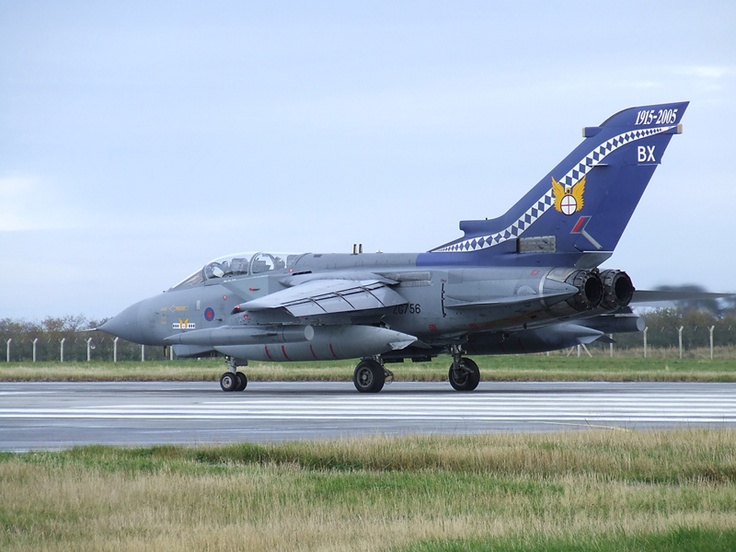 14 Squadrons 90th Anniversary colour scheme. Photo: Tom Sunley