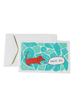 Doxie thank you cards