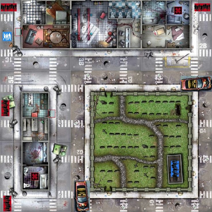 27 best images about D20 Modern: Maps on Pinterest ...