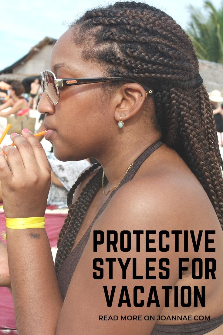 7 Easy Vacation Hairstyles For Black Women Black Women