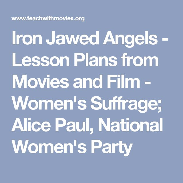 iron jawed angels paper Iron jawed angels essay - instead of concerning about essay writing find the needed help here all sorts of writing services & custom papers leave behind those.